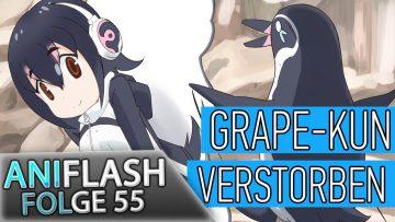 ANIFLASH #55 – GRAPE-KUN VERSTORBEN | peppermint anime bringt MUTAFUKAZ nach Deutschland