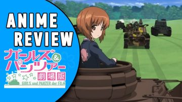 ANIME REVIEW: GIRLS & PANZER der FILM [German/Deutsch]