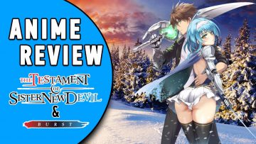 ANIME REVIEW: THE TESTAMENT OF SISTER NEW DEVIL ( & BURST) [German/Deutsch]