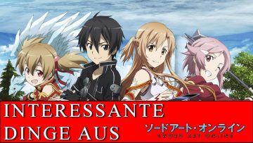 INTERESSANTE DINGE AUS… SWORD ART ONLINE [German/Deutsch]