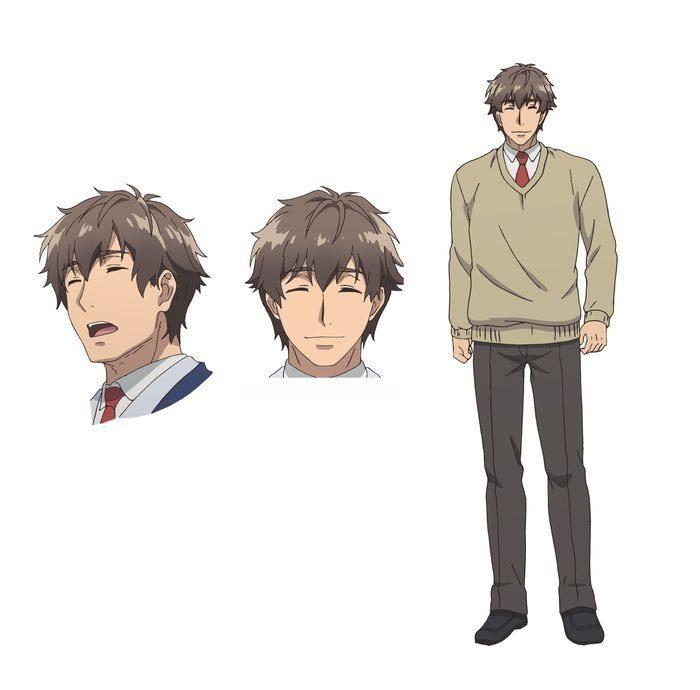 Hidenori Takahashi als Keita Oguma, eine fröhliche Person, die alle mit einem Lächeln führt.