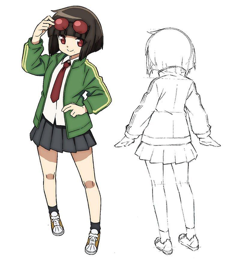 Ayaka Shimizu als Arashi Waraino (JK Cool)
