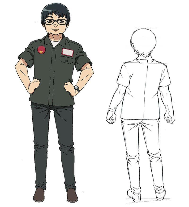 Junki Tomita als sich selbst (Freak!)