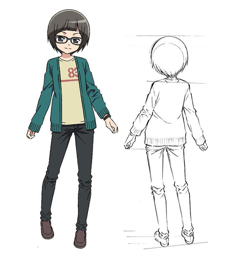 Hatsuna Ubuno als sich selbst (Freak!)