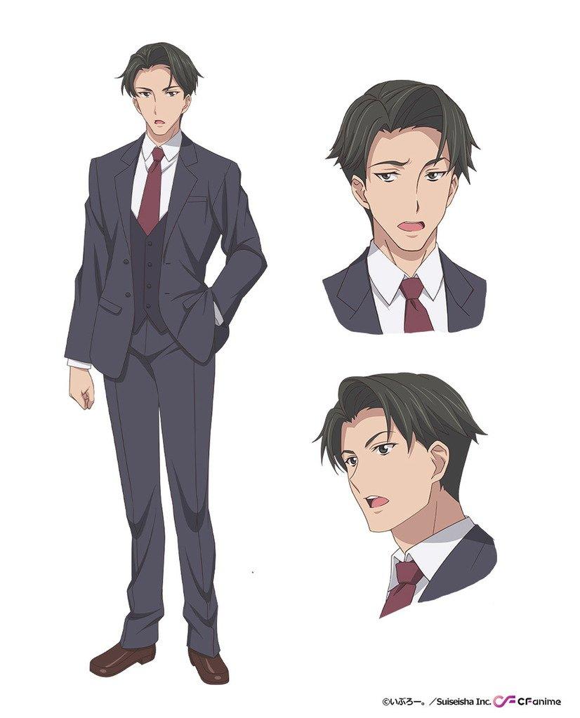 Hibiki Nanashino als Buchō (Manager), jedermanns Chef